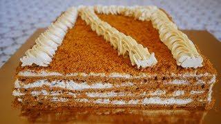 ВСЕ ПРОСЯТ ЭТОТ РЕЦЕПТ !!! КАРАМЕЛЬНЫЙ торт БЕЗ РАСКАТКИ коржей