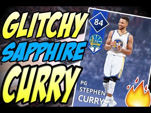 NBA 2K18 MYTEAM SAPPHIRE STEPHEN CURRY GAMEPLAY! GAME BREAKER AT THE START OF THE GAME?