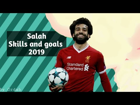 """Mohamed Salah """"the best african player"""" skills and goals 2018/2019 HD"""