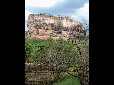 Rock Fortress in Srilanka (UNESCO listed World Heritage Site) / සීගිරිය, රොක් ෆෝට්රස්