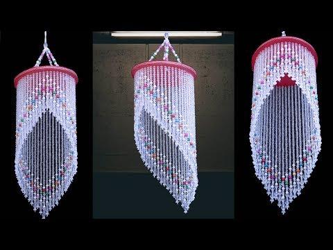 DIY Wind Chime || Pearl Wall Hanging Idea || DIY Jhumar Making