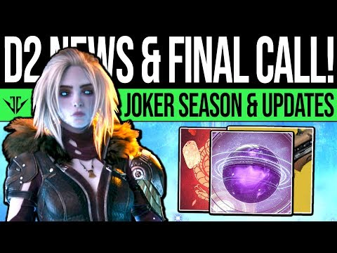 Destiny 2 | QUEENS OFFERING & JOKERS UPDATES! Curse Evolves, Season 6 Changes, DLC Prep & Ornaments!