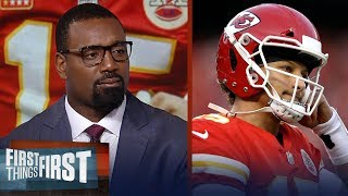 Chris Canty breaks down expectations on Patrick Mahomes this season | NFL | FIRST THINGS FIRST