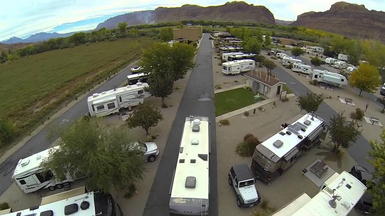 Portal Rv Resort Moab Ut Youtube