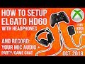 How To Setup Elgato HD60 + RECORD YOUR MIC AUDIO & Party/Game Chat w/ Headphones (No External Mic)