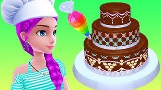 Permainan Anak Perempuan Masak Masakan Membuat Kue Ulang Tahun  🍰 - Real Cake Maker
