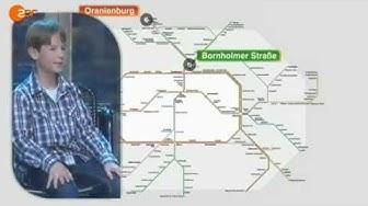 """Wetten Dass.? Kinderwette """"S-Bahn"""" Julian Zude (Düsseldorf, 06.10.2012)"""