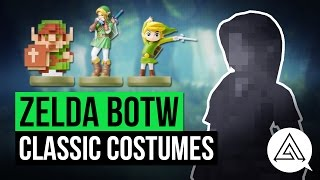 zelda breath of the wild   how to get classic link costumes ocarina wind waker twilight more