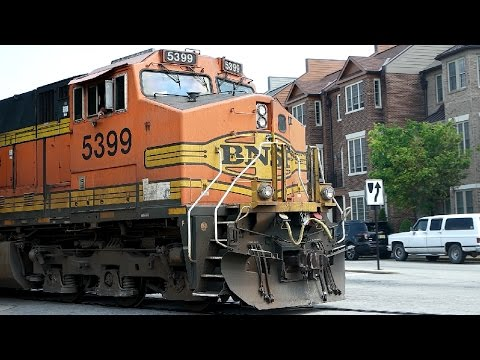 [60fps] Saturday Railfanning- BNSF military train & more! (Fayetteville, NC)