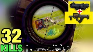 CHALLENGE - GROZA + FULL 6x SCOPE | 32 KILLS SOLO VS SQUAD | PUBG MOBILE