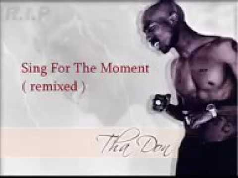 2Pac  Sing for the moment Feat Eminem  ThugAngel1984 remix mp4