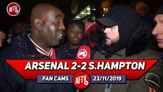 Arsenal 2-2 Southampton | EMERY OUT TONIGHT!!! (DT)