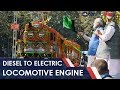 Download World's First Diesel To Electric Locomotive Engine | NDTV carandbike