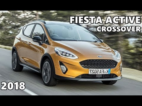 ford fiesta active crossover exterior interior youtube
