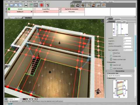 3d home design by livecad tutorials 08 mezzanine youtube. Black Bedroom Furniture Sets. Home Design Ideas