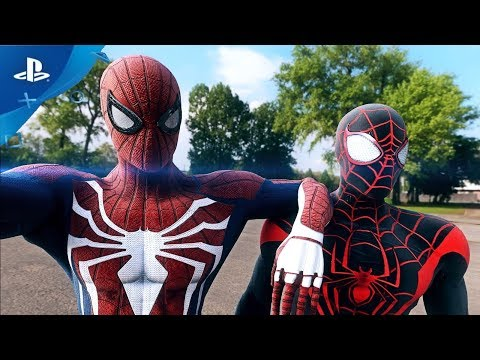"""SPIDER-MAN PS4"" 
