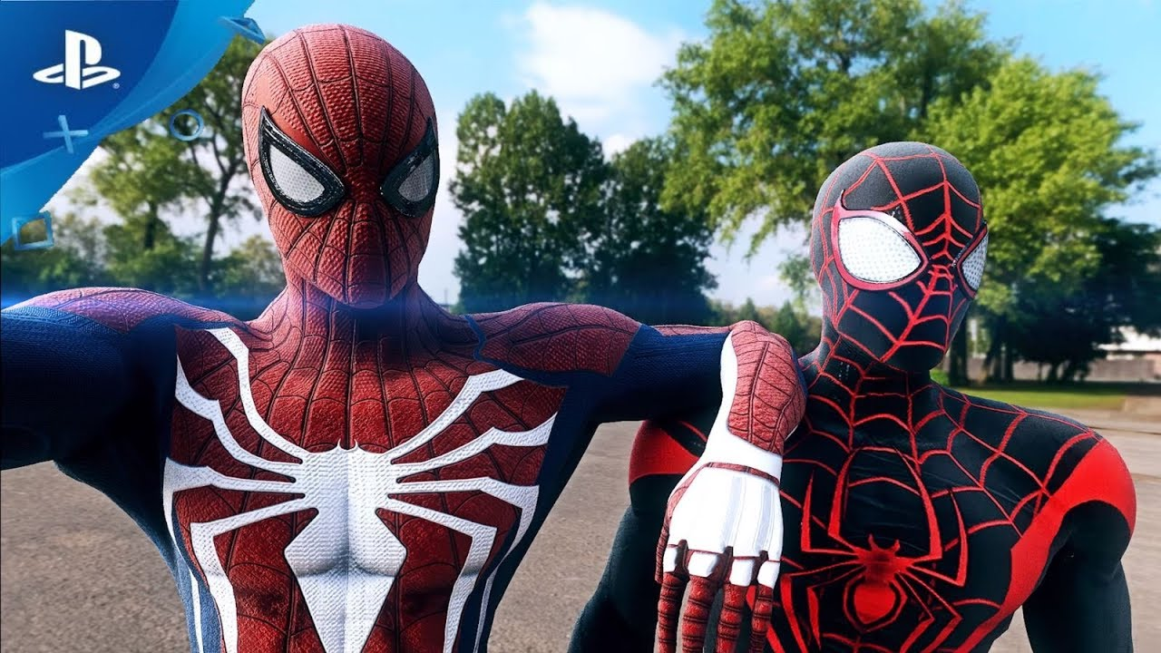Spider Man Ps4 Free Roam Gameplay Alternate Costumes