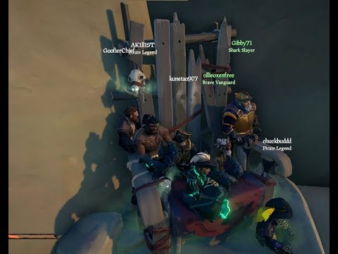 Sea of Thieves Skeleton Throne Locations and Rewards