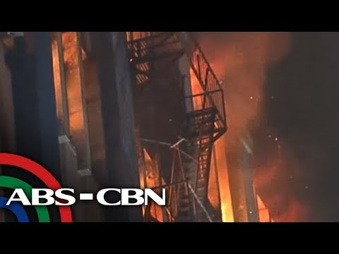 TV Patrol: Sunog sumiklab sa gusali ng Land Management Bureau sa Binondo