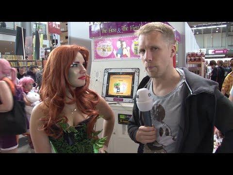 Comic Con Germany 2017: Oliver Pocher unterwegs (Stuttgart)