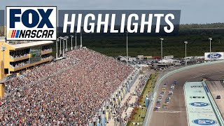 Top 5 Moments at Homestead-Miami Speedway | NASCAR on FOX HIGHLIGHTS