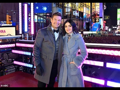 Ryan Seacrest welcomes new co-host Lucy Hale to 2020 edition of ...