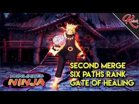 Unlimited Ninja | Second Merge | Sage of The Six Paths | Gate of Healing Awakened