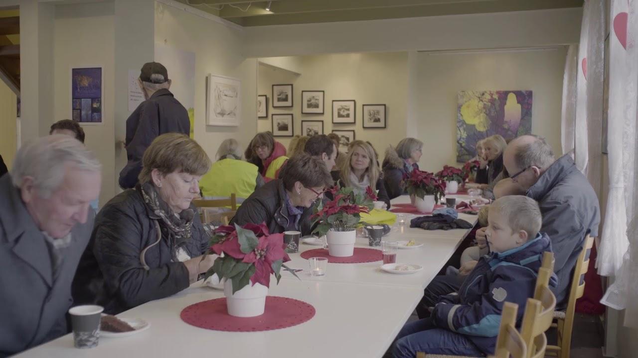 Reportasje fra julemarkedet på Varatun Gård 2018