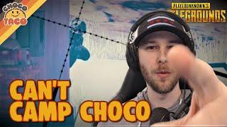 Camp chocoTaco and Get Rekt ft. hambinooo - PUBG Gameplay