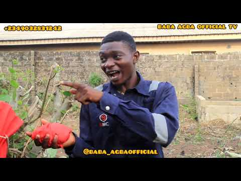 BABA AGBA HAS SPOILT CHICKEN POWER LIFE   REAL HOUSE OF COMEDY FT BABA AGBA OFFICIAL