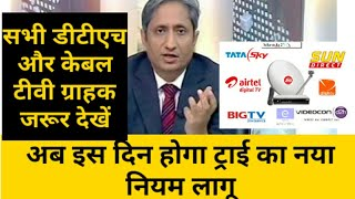 TRAI NEW RULES FOR DTH AND CABLE TV | AIRTEL TATASKY DISH TV D2H  SUN | TRAI VS BOMBAY HIGH COURT