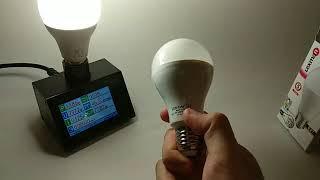 Битва гигантов:  Maxi 15 против Lexman 16W - экономные лампы