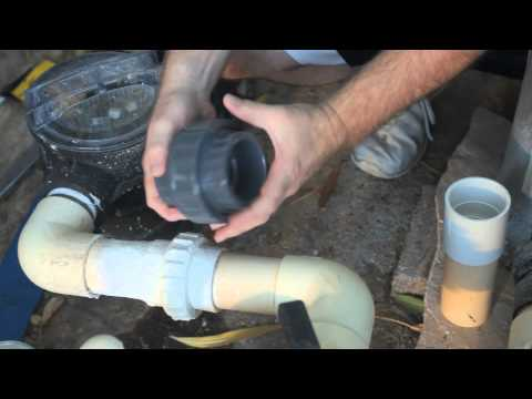 How To Use Silicone Caulk To Seal A Pool Pump Air Leak : Pools & Spas