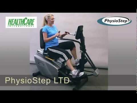 PhysioStep LTD Recumbent Elliptical - Fitness Direct