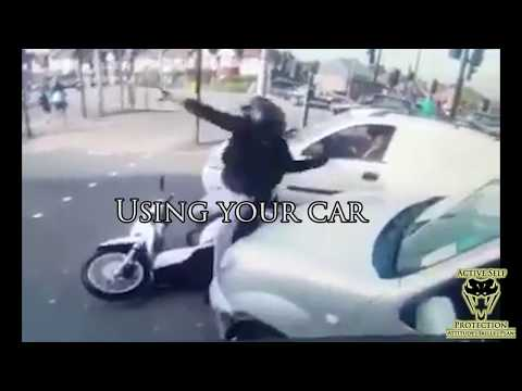 Moto Carjackers Stopped by Bystander | Active Self Protection