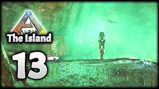 I FOUND MY FIRST ARK CAVE & ARTIFACT! | Let's Play ARK Survival Evolved: The Island | Episode 13