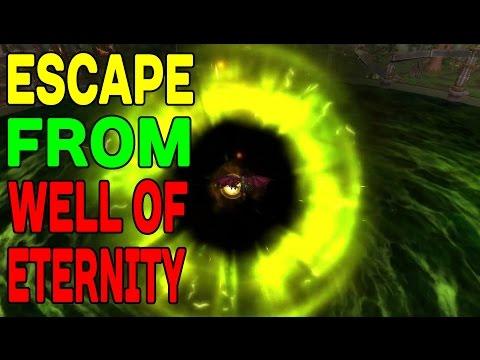 WoW SECRET: Escape from Well of Eternity (One Week in WoW) !!