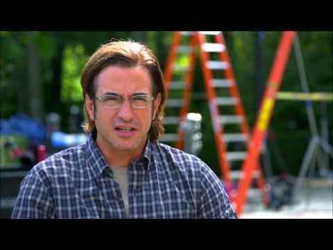 "Crisis: Dermot Mulroney ""Francis Gibson"" On Set TV Interview"