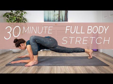 Full Body Stretch - 30 Minutes - Sacred Lotus Yoga