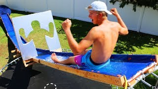Water Sliding through Impossible Shapes!!