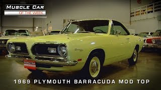 Muscle Car Of The Week Video Episode #96:  1969 Plymouth Barracuda Mod Top