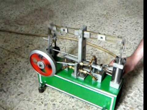 M quina de vapor casera youtube - Maquina para hacer pastas caseras ...