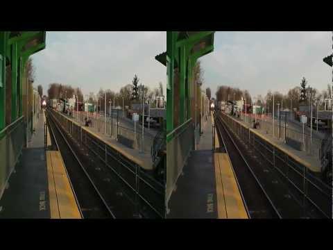 3D Train:  MBTA Commuter Train (1034), Fitchburg-Bound (Leominster, MA)
