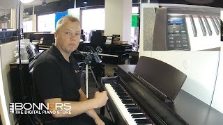 Yamaha CLP545 Digital Piano Quick Demo By Bonners Music UK