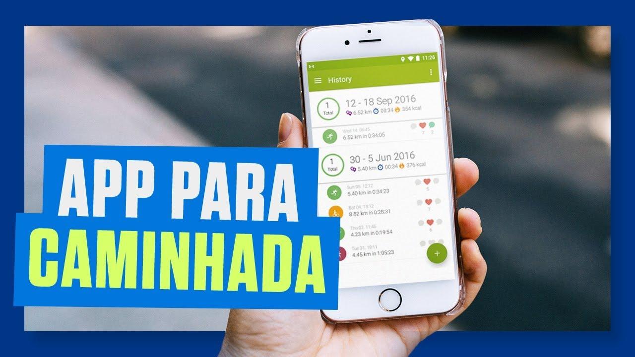 Melhor App Para Caminhada Aplicativo Para Monitorar Caminhada E Corrida Com Gps