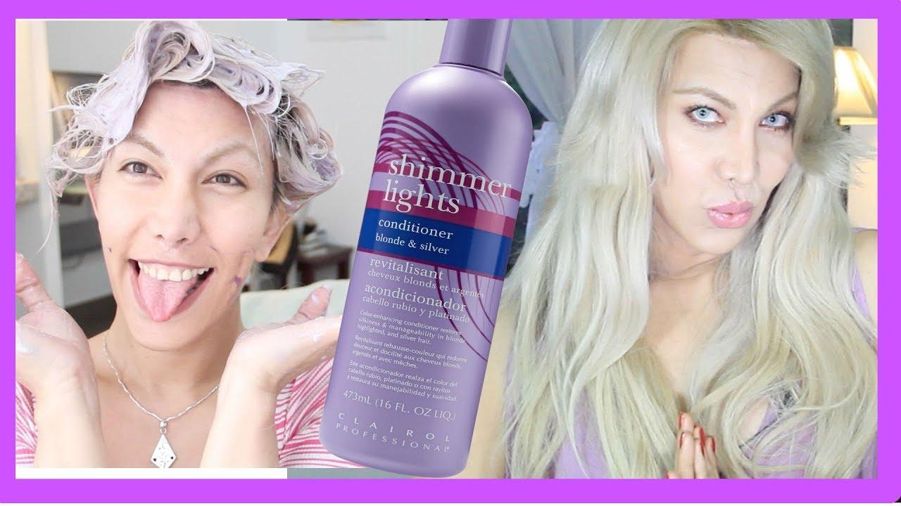 💙 Como usar champu Azul o Morado 💜 para un color bonito - YouTube 0bc2e48fea3f