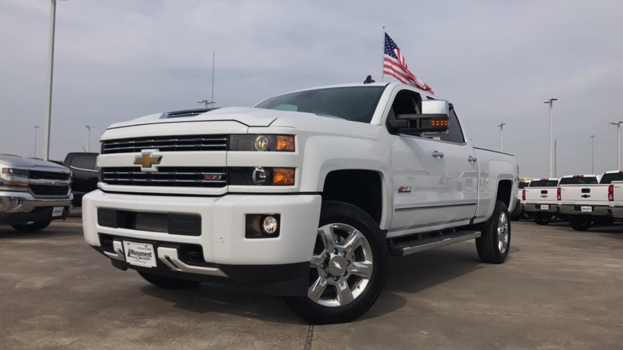2018 Chevrolet Silverado 2500HD LTZ Z71 ($70,000) - Review ...