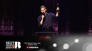 George Ezra wins British Male Solo Artist | The BRIT Awards 2019 Video