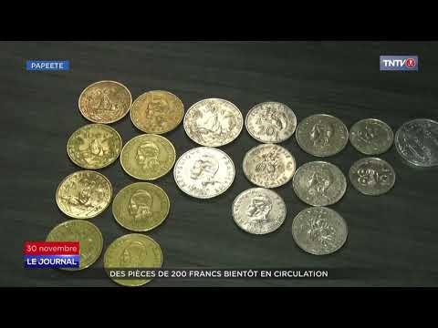 De nouvelles pièces de monnaie en septembre 2021 en Polynésie