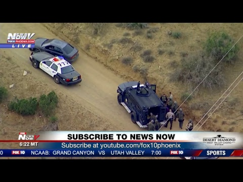 BREAKING: Barricaded suspect in Palmdale, CA veterans home latest (FNN)